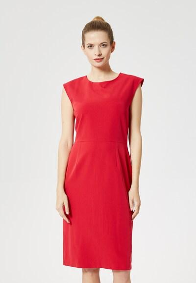 DREIMASTER Kleid in rot, Modelansicht