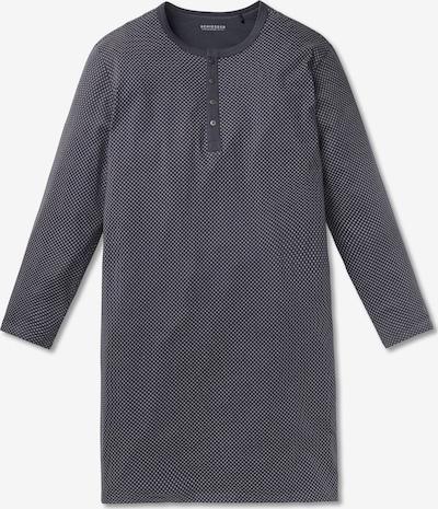 SCHIESSER Pyjama lang in de kleur Grijs: Vooraanzicht