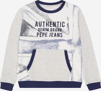 Pepe Jeans Sweatshirt 'CHAD' in hellgrau / schwarz, Produktansicht