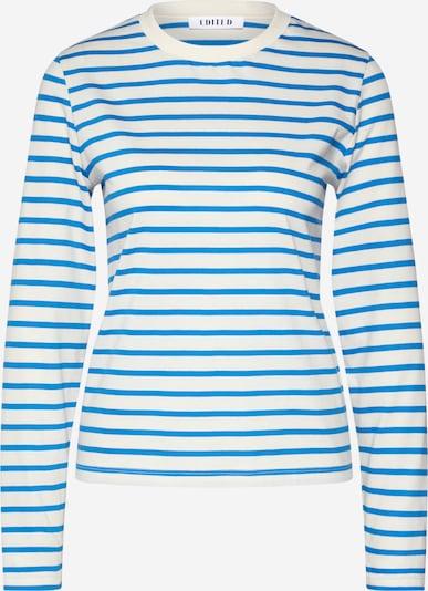 EDITED Langarmshirt 'Pixie' in blau / weiß, Produktansicht