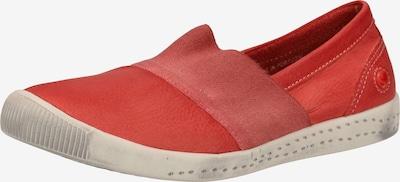 Softinos Slipper in rot, Produktansicht