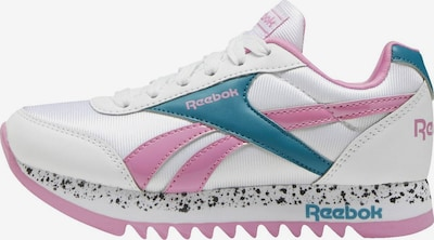 Reebok Classic Sneaker in petrol / pink / weiß, Produktansicht