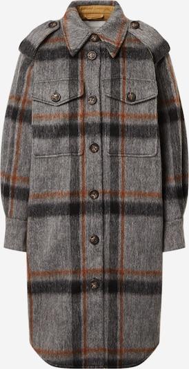 Copenhagen Muse Manteau mi-saison 'Belle' en gris / rouge, Vue avec produit