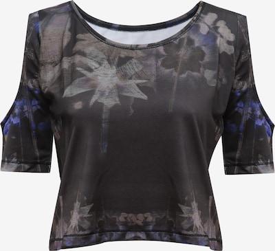 YOGISTAR.COM Shirt 'raffaela' in anthrazit, Produktansicht