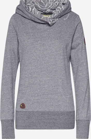 Ragwear Sweat-shirt 'ANGELINA' en gris, Vue avec produit