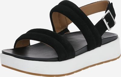 UGG Sandale 'LYNNDEN' in schwarz / weiß, Produktansicht