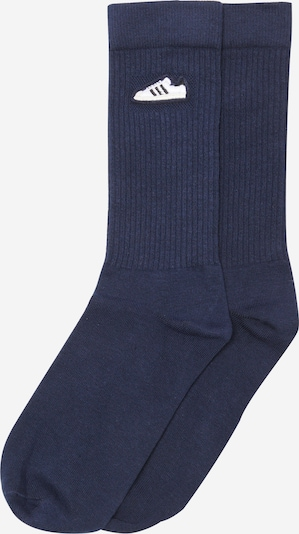 ADIDAS ORIGINALS Chaussettes 'SUPER SOCK 1PP' en bleu marine / bleu foncé, Vue avec produit