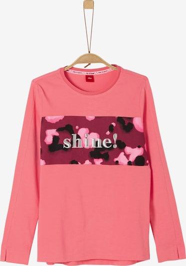 s.Oliver Junior Shirt in himbeer / rosé, Produktansicht