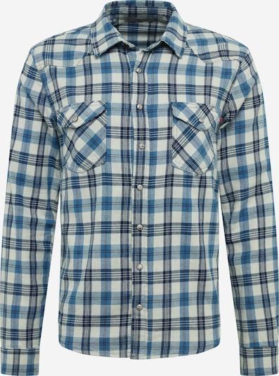 LTB Košile 'ROHAN' - modrá / bílá, Produkt