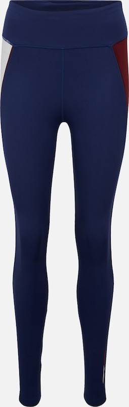 Tommy Sport Sportbroek 'HIGHWAIST TRAINING LEGGING' in de kleur Donkerblauw, Productweergave