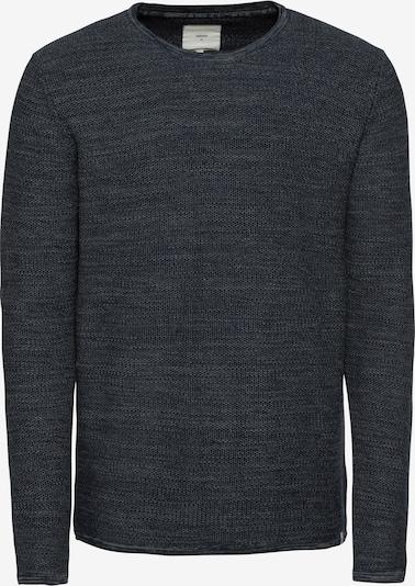 minimum Pullover 'reiswood 2.0' in dunkelblau / hellgrau, Produktansicht