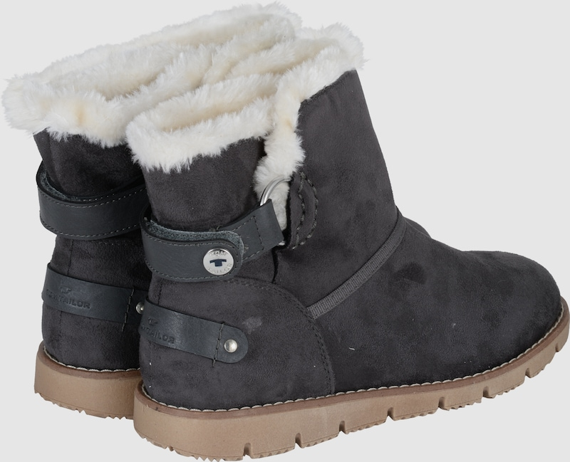 Tom Tailor Snow Boot With Faux Fur-lining