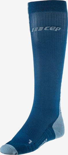 CEP Kompressionsstrümpfe 'Run Socks 3.0' in blau, Produktansicht
