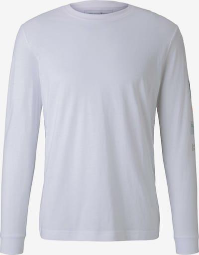 TOM TAILOR DENIM Shirt in mischfarben / weiß, Produktansicht