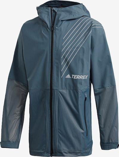 adidas Terrex Regenjacke in taubenblau, Produktansicht