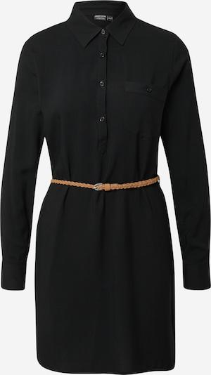 Eight2Nine Robe-chemise en noir: Vue de face