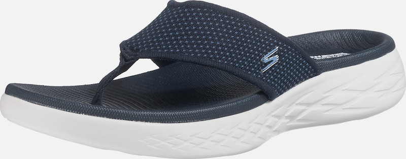 SKECHERS Zehentrenner 'On-the-go 600 Textil Lässig wild