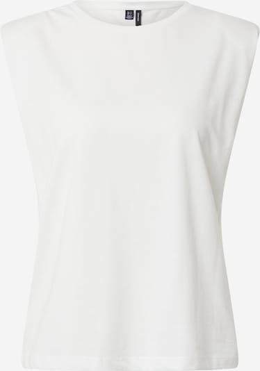 VERO MODA Shirt 'EVELYN' in weiß: Frontalansicht