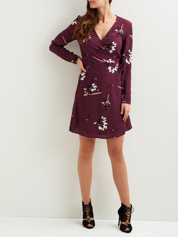 VILA Kleid mit langen Ärmeln