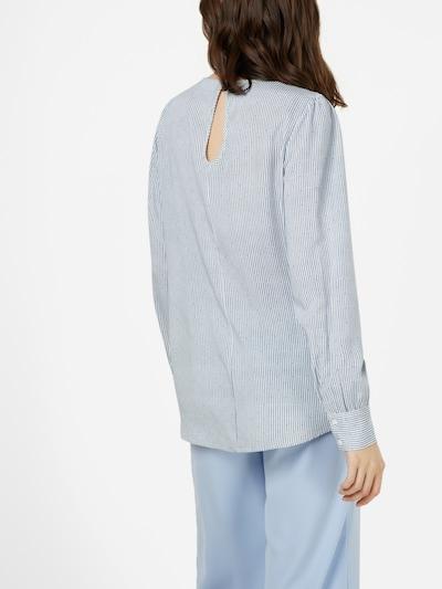 SISTERS POINT Bluse in blau / weiß: Rückansicht