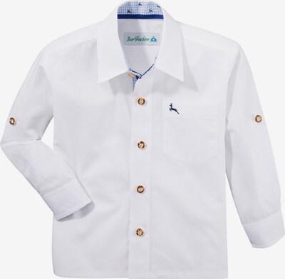 Isar-Trachten Trachtenhemd in weiß, Produktansicht