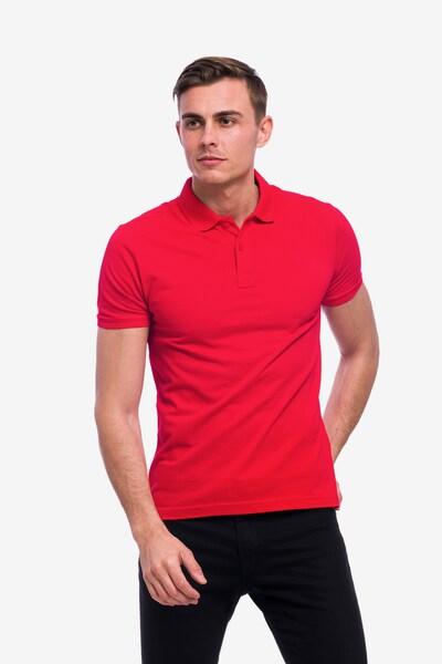 Tom Barron Poloshirt in rot: Frontalansicht
