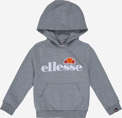ELLESSE Sweatshirt 'Isobel Oh' in graumeliert: Frontalansicht