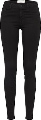 TOM TAILOR DENIM Skinny Jeans 'Nela Black Rinsed'
