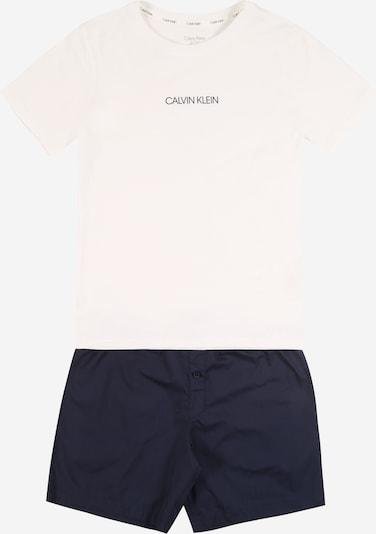 Seturi de lenjerie Calvin Klein Underwear pe albastru / alb, Vizualizare produs