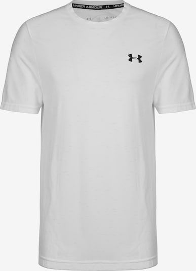 UNDER ARMOUR Trainingsshirt in weiß, Produktansicht