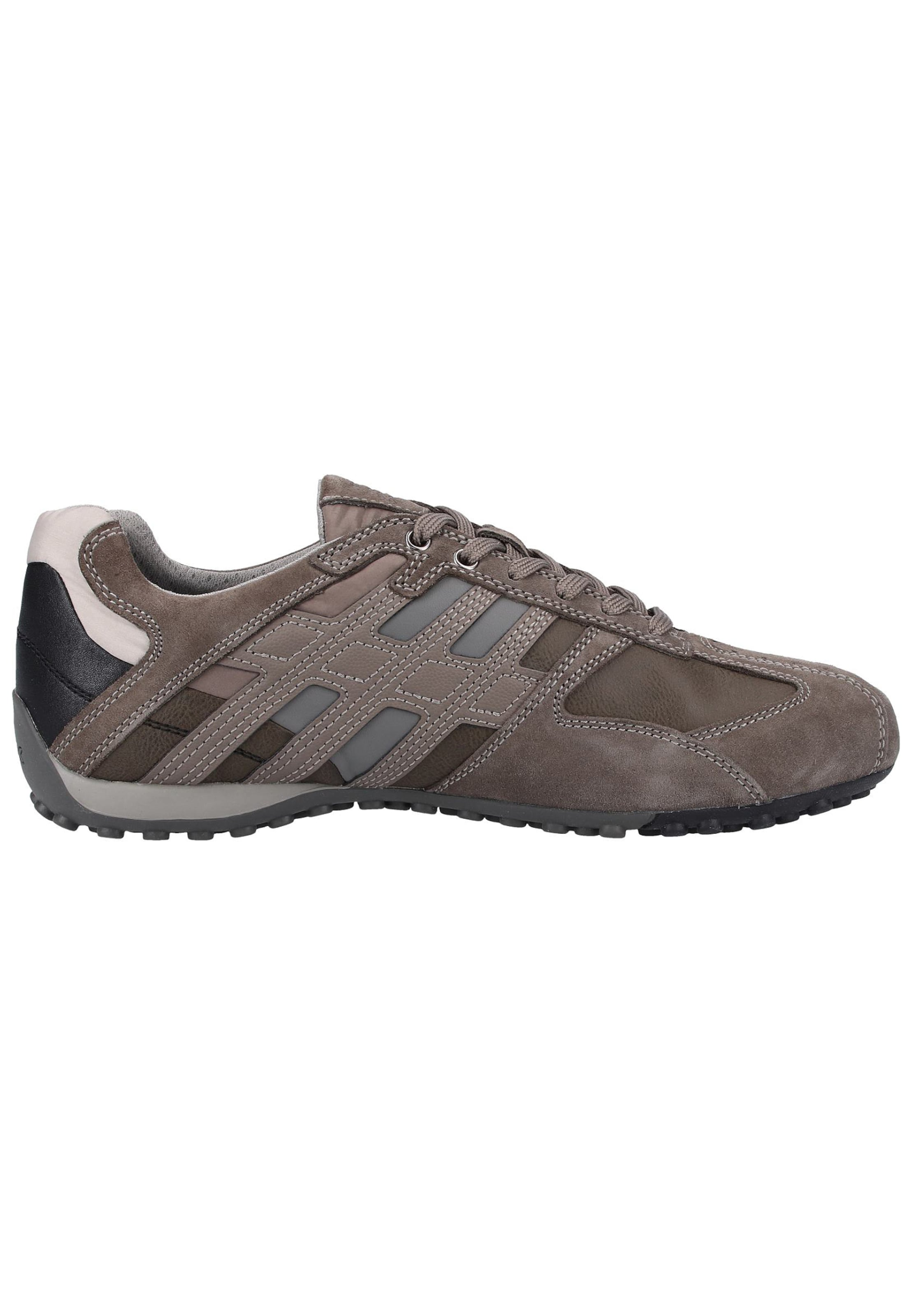 In GrauTaupe Schwarz Geox Sneakers Perlweiß 34AR5jL