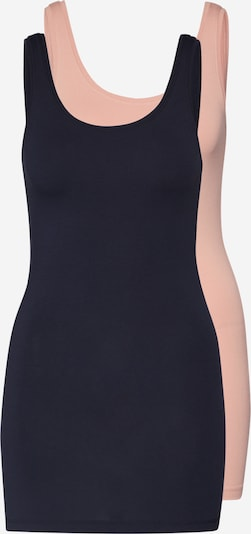 ONLY Tanktop in navy / rosa, Produktansicht