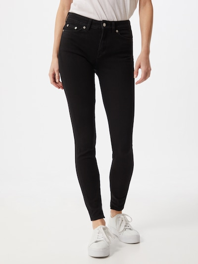 DRYKORN Jeans 'NEED' in black denim, Modelansicht