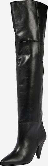 Samsoe Samsoe Overknee laarzen in de kleur Zwart, Productweergave
