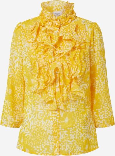 SAINT TROPEZ Bluse 'LillySZ' in gelb / weiß, Produktansicht