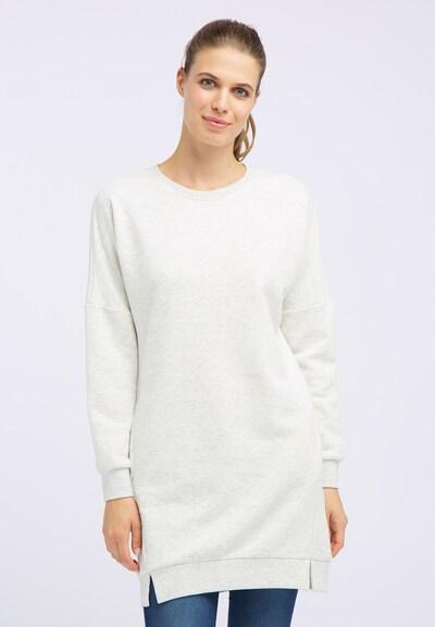 DREIMASTER Sweatshirtkleid in weiß, Modelansicht