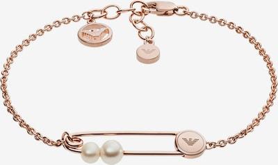 Emporio Armani Armband 'EG3381221' in rosegold / perlweiß, Produktansicht