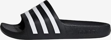 melns ADIDAS PERFORMANCE Iešļūcenes/baseina apavi