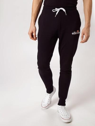 Pantaloni 'NIORO' ELLESSE pe negru, Vizualizare model