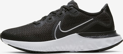 Pantofi sport 'Renew Run' NIKE pe negru / alb: Privire frontală