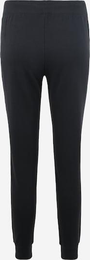 UNDER ARMOUR Sporthose in schwarz / weiß: Rückansicht