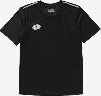 LOTTO T-Shirt 'Delta' in schwarz / weiß, Produktansicht