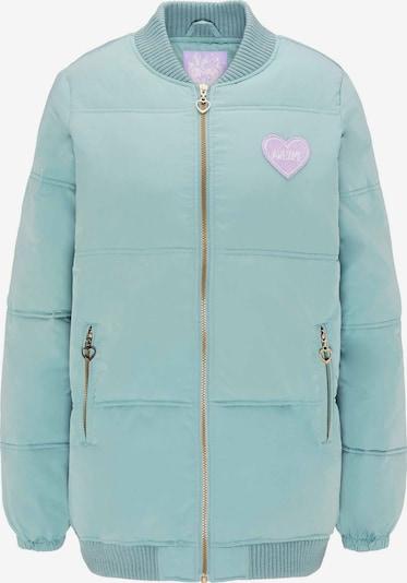 MYMO Winterjas in de kleur Mintgroen, Productweergave