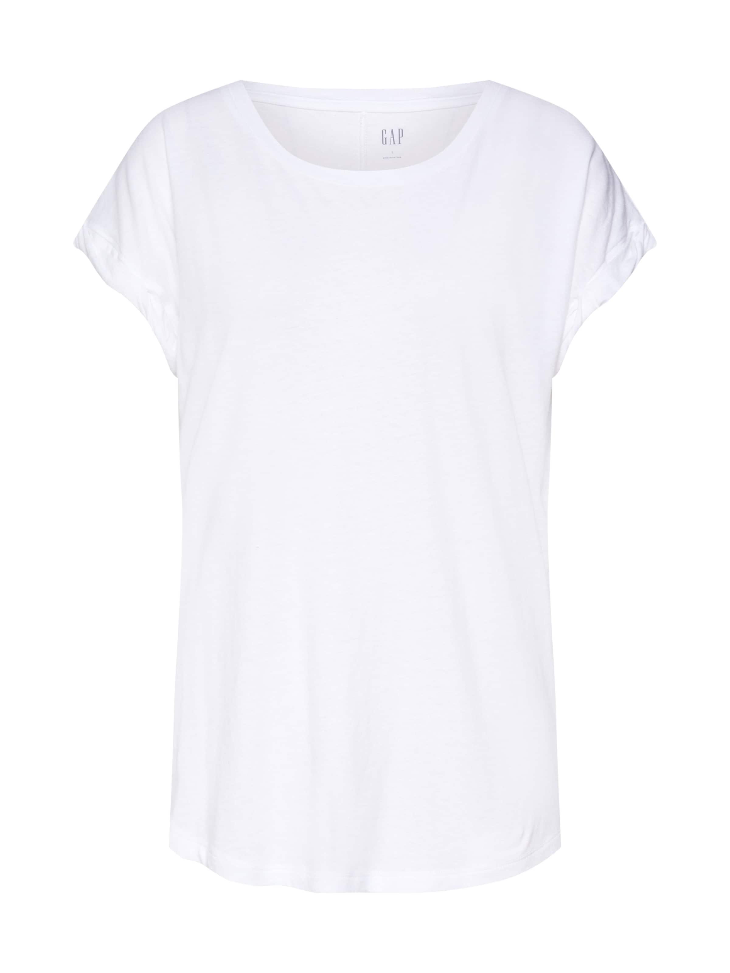 Slv Tee' 'ss Weiß In Gap Roll Auth Shirt KFJTl13c