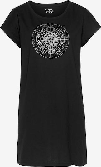 VIVANCE Spavaćica košulja u crna / bijela, Pregled proizvoda