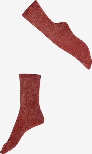 Șosete 'Shiny' FALKE pe roșu, Vizualizare produs