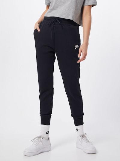 fekete Nike Sportswear Nadrág 'Tech Fleece', Modell nézet