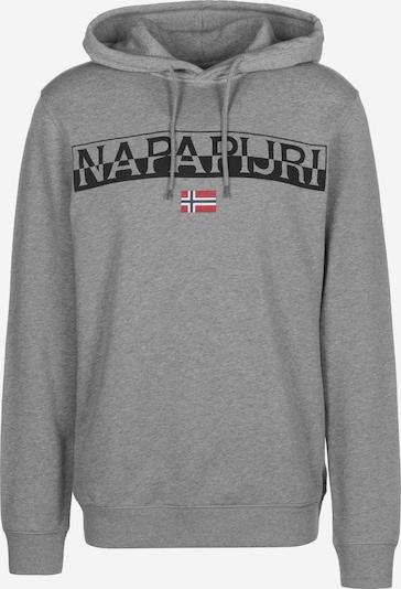 NAPAPIJRI Sweatshirt 'BARAS' in de kleur Grijs, Productweergave
