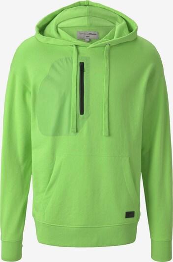TOM TAILOR DENIM Sweatshirt in neongrün, Produktansicht