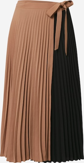 MOS MOSH Rok 'Sila' in de kleur Camel / Donkerbruin, Productweergave